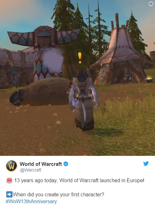 梦回2004 暴雪发布疑似《魔兽世界》怀旧服视频 翼风网