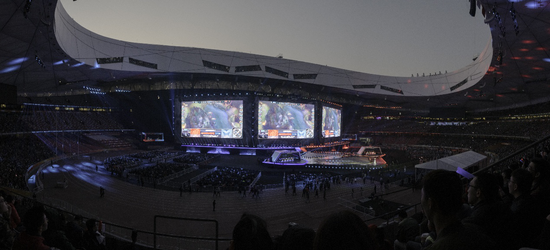 2017年的S7最终决赛在中国国家体育场——鸟巢举办