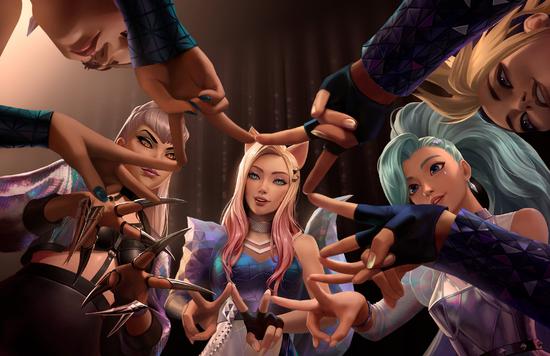 《【英雄联盟】英雄联盟K / DA女团-闪耀不止在舞台》