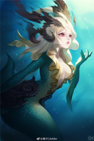 深海中的人鱼 作者:愚子CiteMer