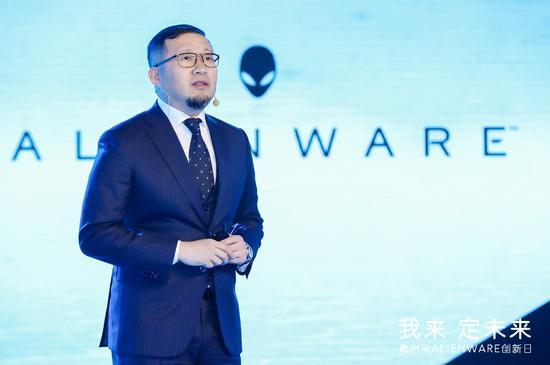戴尔全球资深副总裁、戴尔中国消费及小企业事业部总经理王利军致辞