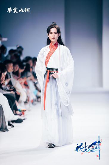 素雅白衫,韩子高静对流年