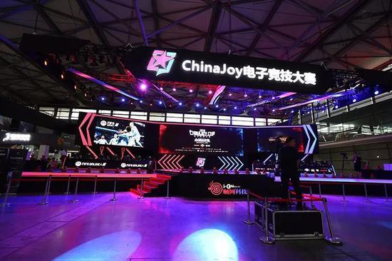 第十六届ChinaJoy首日官方电竞大赛舞台精彩回顾