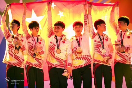 2018雅加达亚洲运动会! 恭喜CHINA!