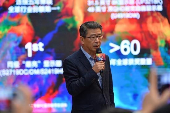 戴尔显示器全球高级副总裁Davis Lee