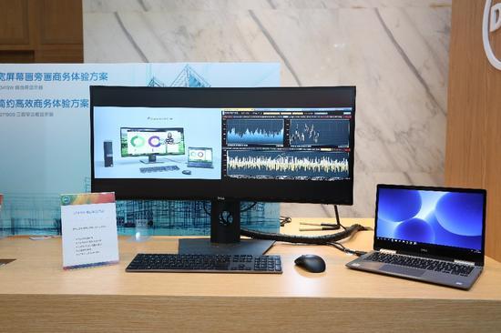 宽屏幕画旁画商务体验方案及简约高效商务体验方案