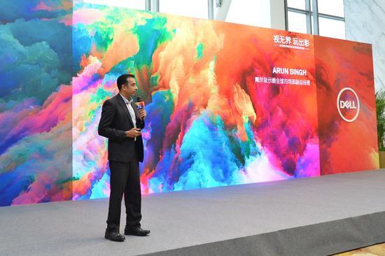 戴尔显示器全球市场部副总经理Arun Singh