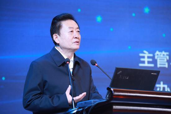全国政协委员、中国音数协理事长孙寿山