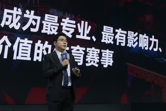 腾竞体育联席CEO林松