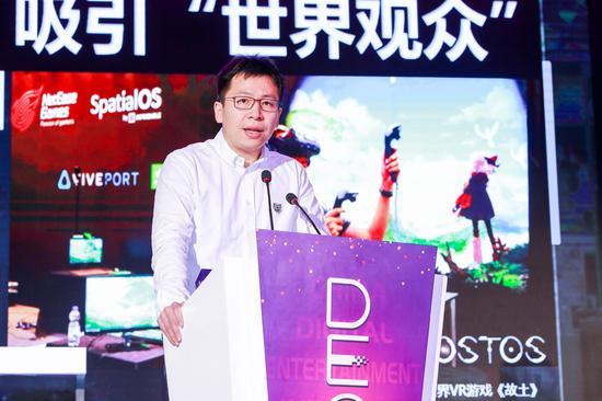 网易游戏市场副总裁 吴鑫鑫先生