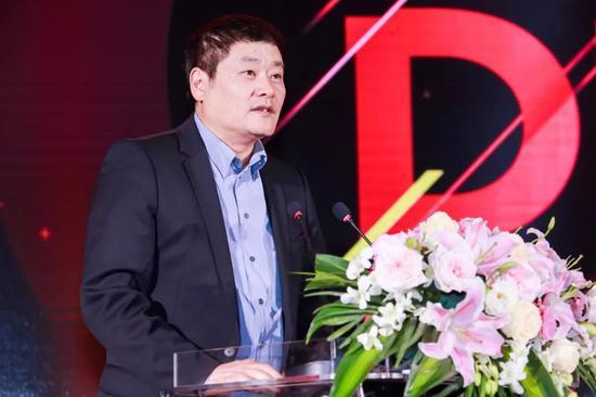 移动游戏企业家联盟(MGEA)秘书长ChinaJoy组委会秘书长上海汉威信恒展览有限公司董事长韩志海先生致辞