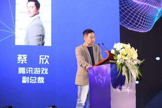 腾讯游戏副总裁 蔡欣