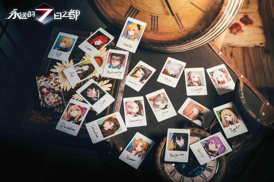《永远的7日之都》拍立得卡片
