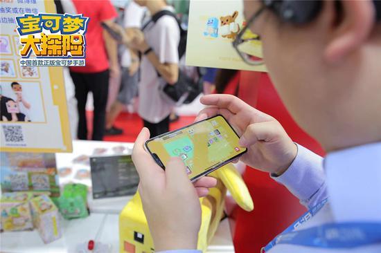 现场玩家试玩中国版独占内容