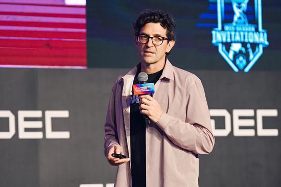 拳头游戏电子竞技全球沟通负责人 David Higdon