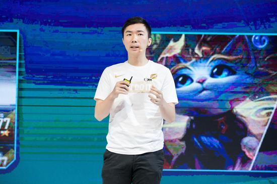 英雄联盟电竞经理中国发行制作人、腾竞体育联席CEO金亦波
