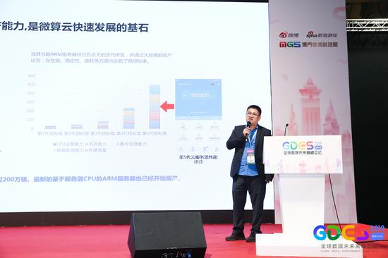 GDES·澳门·2019|微算互联创始人云游戏总裁雷磊:微算云+5G+助力云游戏产业