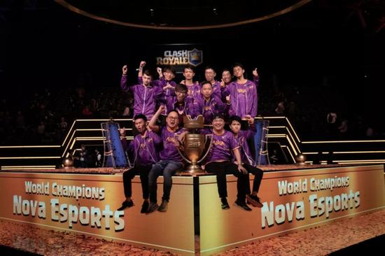 2018CRL世界冠军Nova