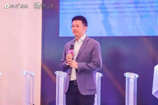 佛山市南海区桂城街道办事处主任岑灼雄致辞