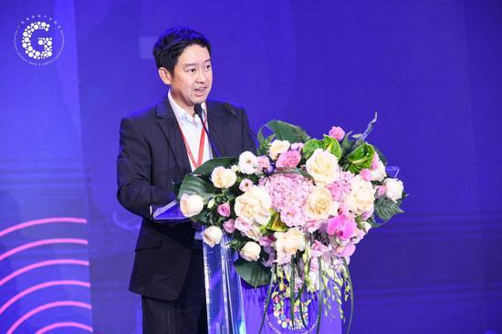 广东省游戏工业协会会长、腾讯游戏副总裁蔡欣先生