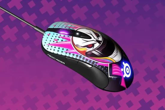 Sensei Ten Neon Rider霓虹骑士限量版鼠标