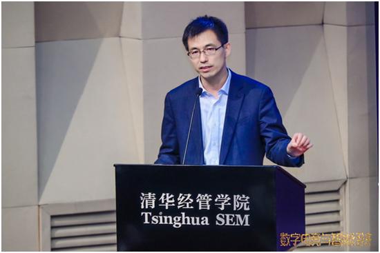 中国互联网协会副秘书长宋茂恩做主题发言
