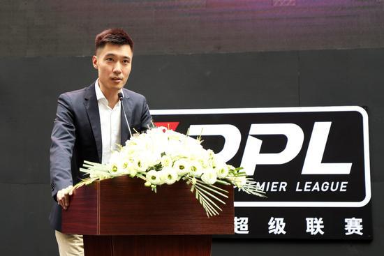 里昂足球俱乐部驻中国首席代表张萌萌致辞