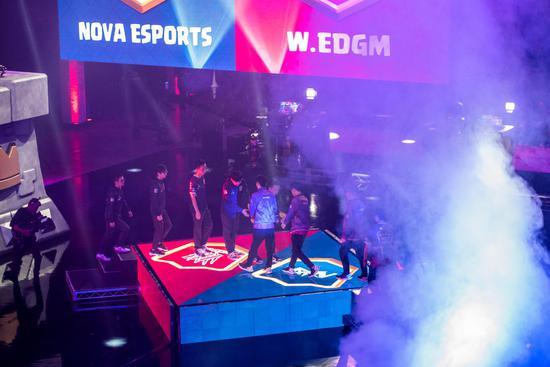 Nova vs W.EDGM打响中国德比