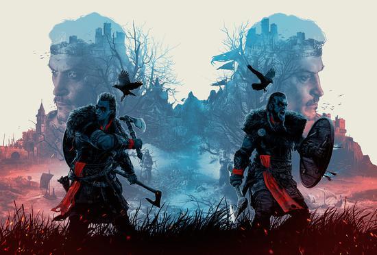 《刺客信条:英灵殿》发售销量创《刺客信条》系列游戏史上之最
