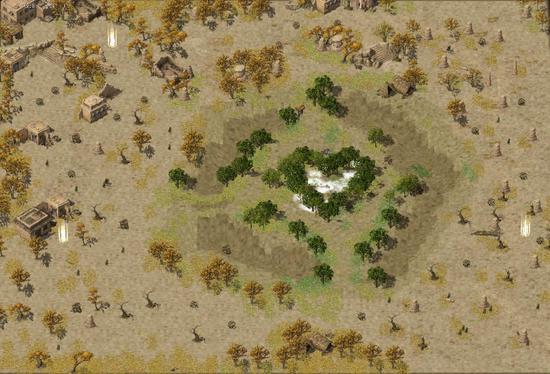 荒野狂沙,危机四伏,谁会是新矿区最后的PK王者?