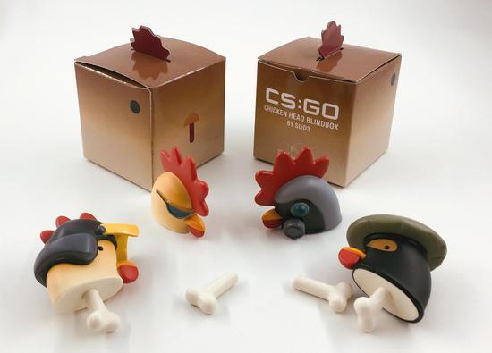 """""""随鸡惊喜""""盲盒,开出多款小鸡头"""