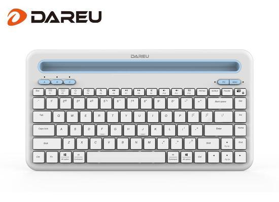 小巧纤薄,尽享舒适,达尔优LK200蓝牙键盘发布