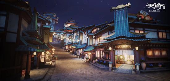 夜色下的苏澜城