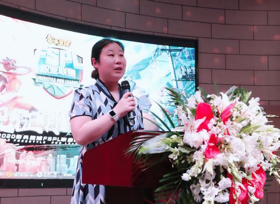 上海市浦东新区文化体育和旅游局夏怀逸处长致辞