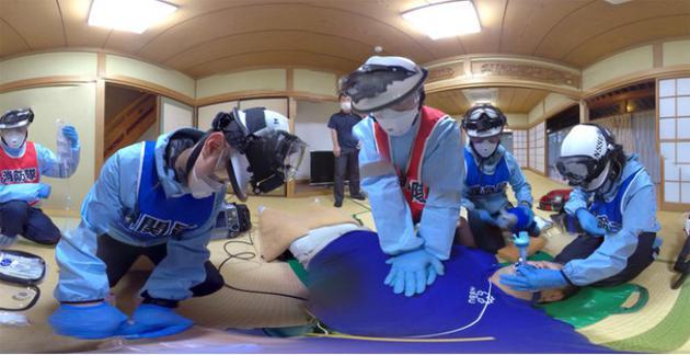 日经大学和其他机构开始联合开发应急救生人员的VR培训材料