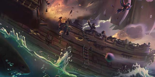 《贼海》发售预告片 海上骷髅战触手怪