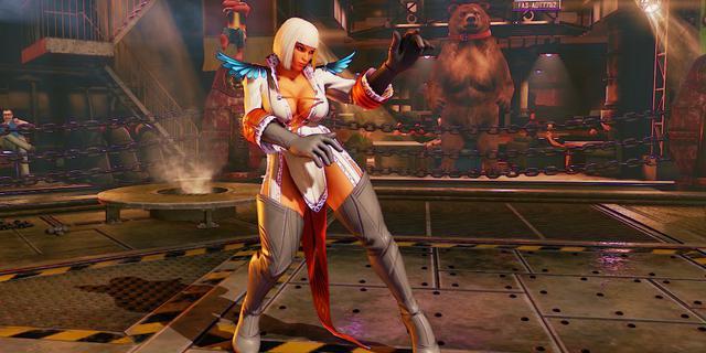 《街头霸王5》将推出《鬼泣》DLC服装