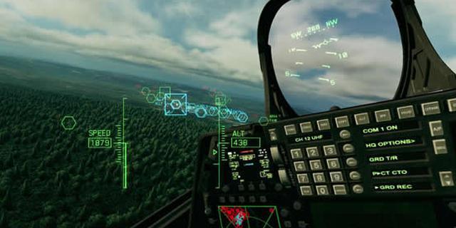《皇牌空战7:未知空域》VR模式截图