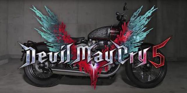 《鬼泣5》但丁实体摩托车 全球仅1辆只送不卖