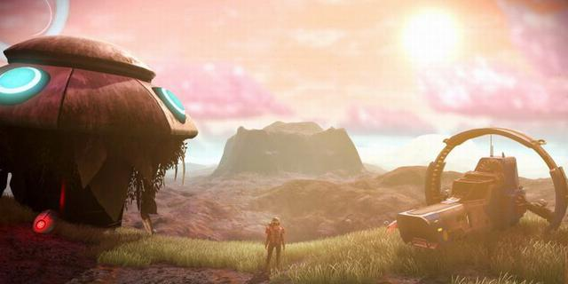 《无人深空》VR新作公布 玩家身临其境探索星球