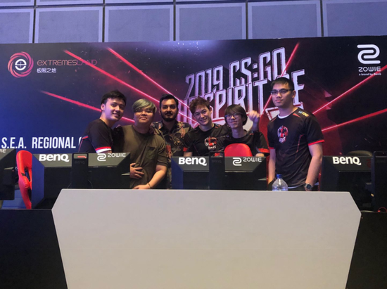 极限之地CS:GO东南亚预选赛落幕BOOT轻松夺冠