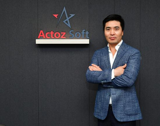 《【煜星在线平台】WEGL微博杯的跨国合作伙伴,专访韩国Actoz Soft CEO郭海滨》