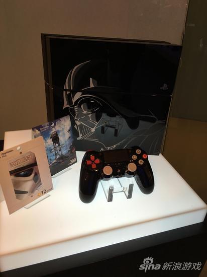 《星球大战:前线》限定版PS4主机手柄以及PSN卡