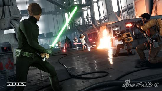 《星球大战:前线》PS4/Xbox One帧数测试公布