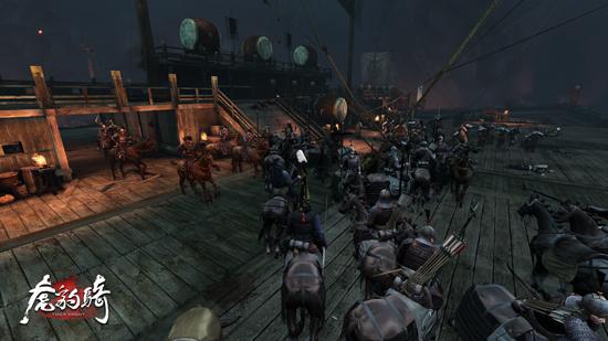 图9:游戏中有多种进军路线