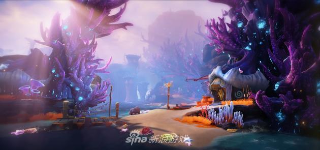 《猎魔军团》游戏场景