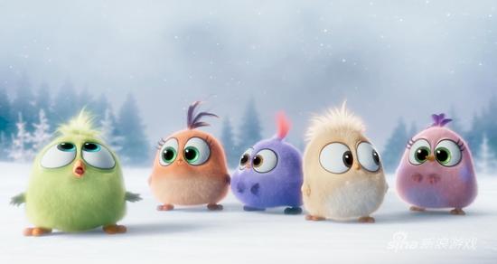 五只小萌鸟齐唱圣诞歌-怒鸟 预告片 萌鸟齐唱圣诞歌