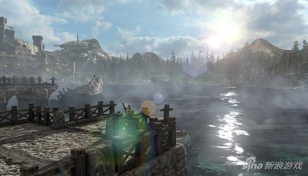 《炽焰帝国2》新地图布莱德湖