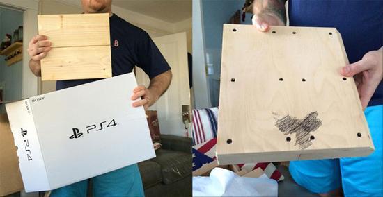 国外男孩圣诞网购PS4竟送来木块