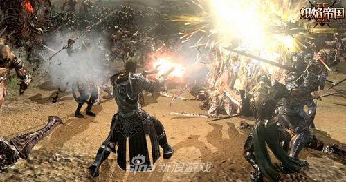 《炽焰帝国2》枪剑士ACT动作激战